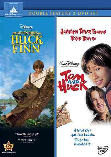 ADVENTURES OF HUCK FINN/TOM AND HUCK BY WOOD,ELIJAH (DVD)